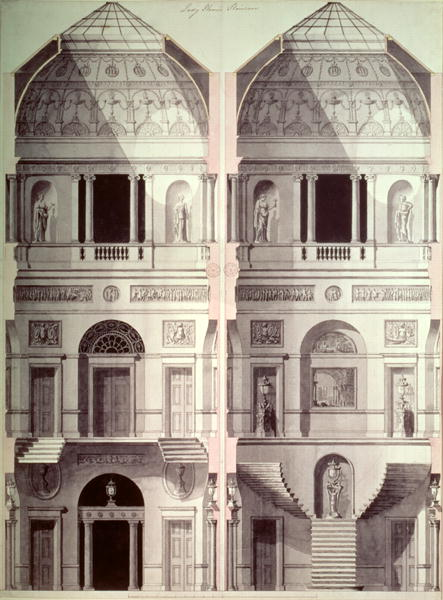 Portman Square, Home House, by Robert Adam